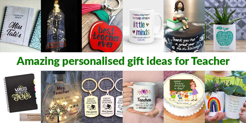 Personalised Gift Ideas for Teachers