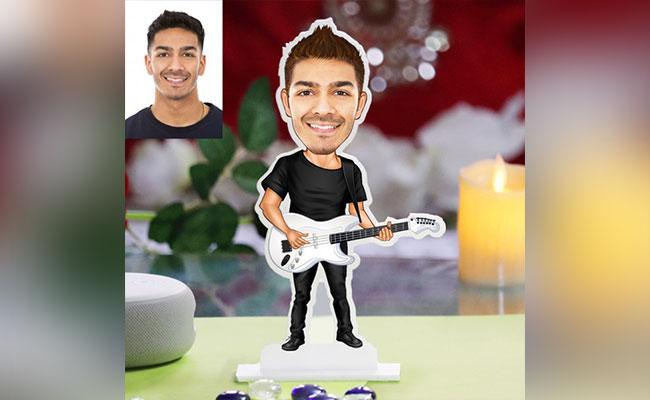 Personalized Guitar Caricature