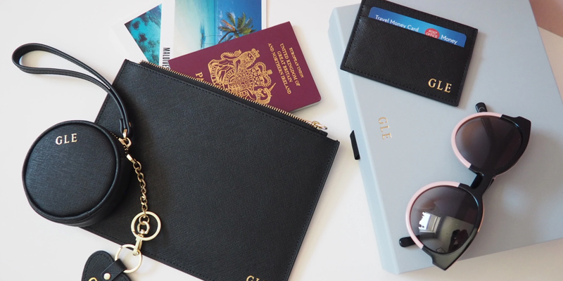 Trending personalised travel accessories