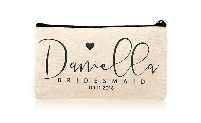 Personalised Cosmetics Pouch
