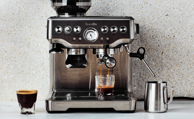 Espresso machine for mom