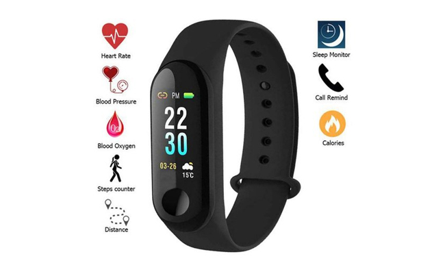 Gift fitness band to your mother