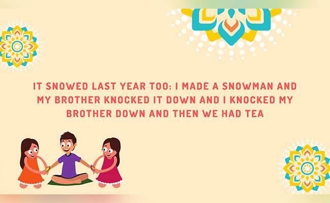 10 Lovely Raksha Bandhan Quotes For Brother 1