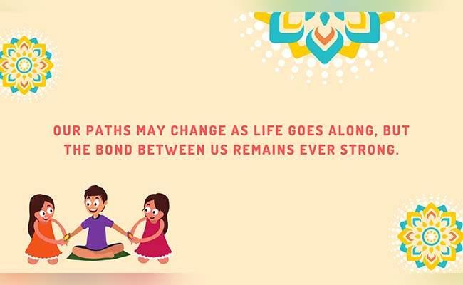 10 Lovely Raksha Bandhan Quotes For Brother 10