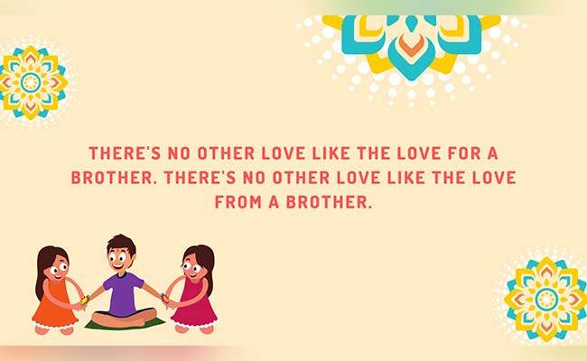 10 Lovely Raksha Bandhan Quotes For Brother 2