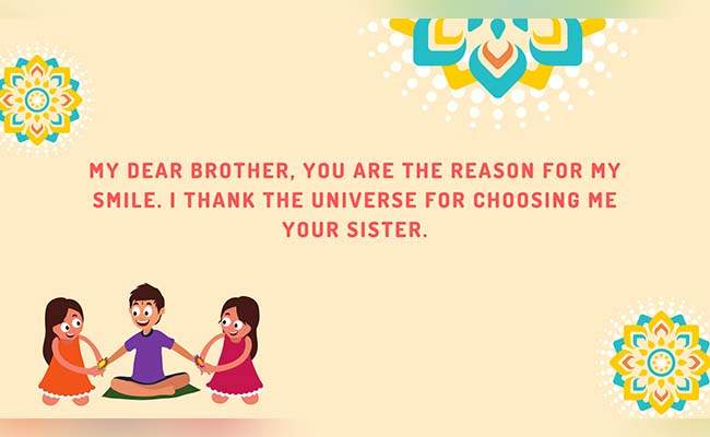 10 Lovely Raksha Bandhan Quotes For Brother 5