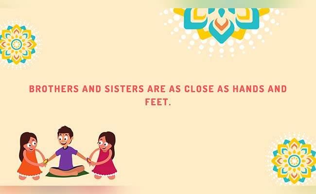 10 Lovely Raksha Bandhan Quotes For Brother 6