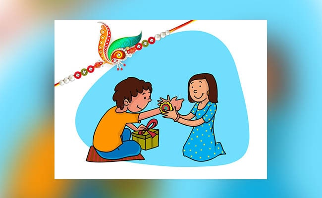 Brother Giving Gift To Sister
