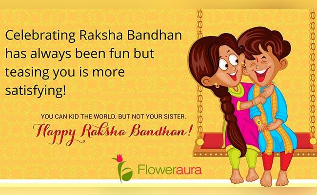 Celebrating Raksha Bandhan has always been