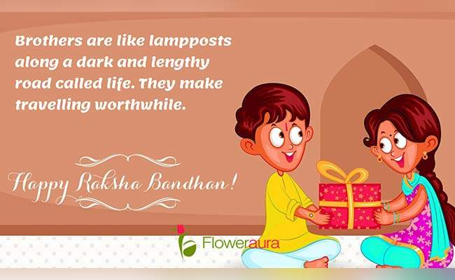 Cute Raksha Bandhan Quotes For Little Brother 5
