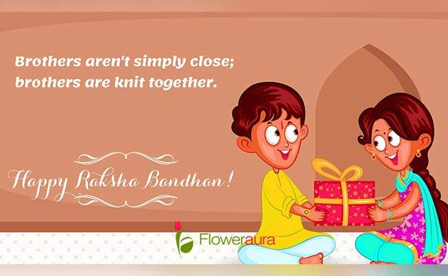 Cute Raksha Bandhan Quotes For Little Brother 8