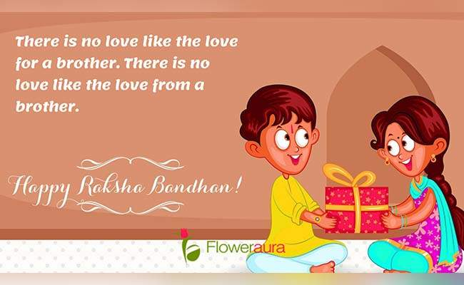 Cute Raksha Bandhan Quotes For Little Brother 9