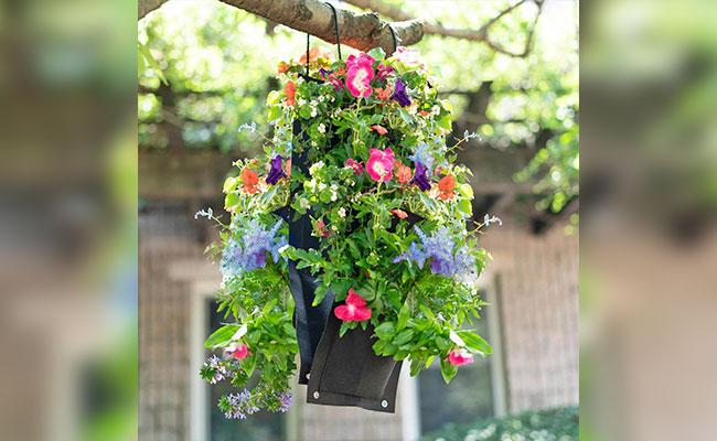 Pocket Hanging Flower Basket