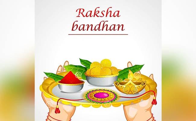 Rakhi Thali With Gifts