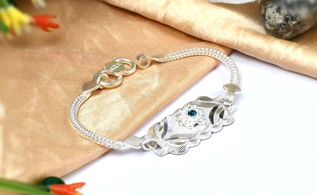 Silver Rakhis Does Not Wear Off With Time