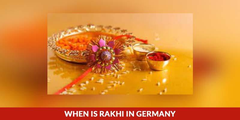 When Is Rakhi In Germany