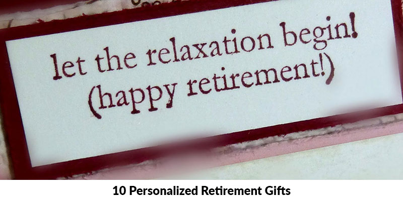 Personalized Retirement Gifts