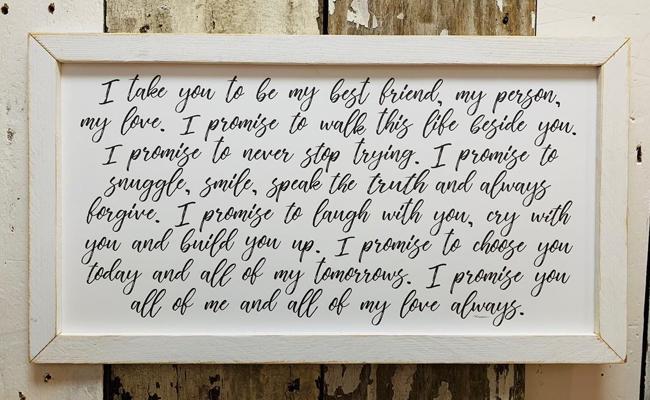 promise letter