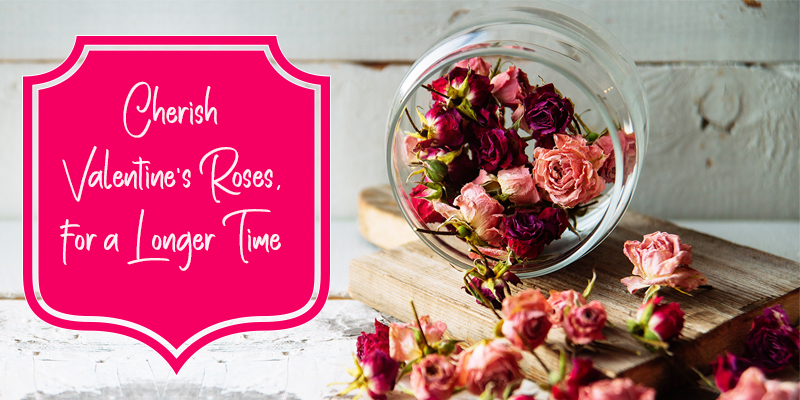 ways to reuse your valentines day rose bouquets