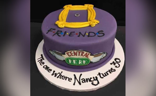 Friends Theme Cake
