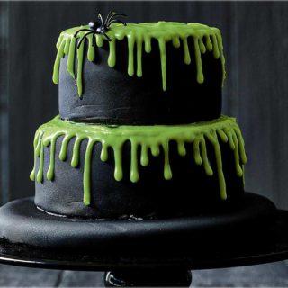Green Lava Cake