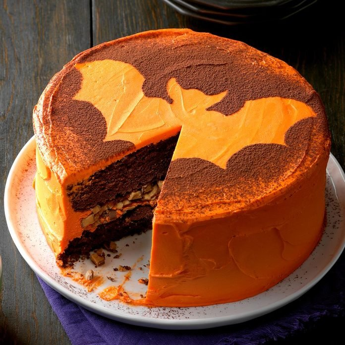 The Golden Batman Cake