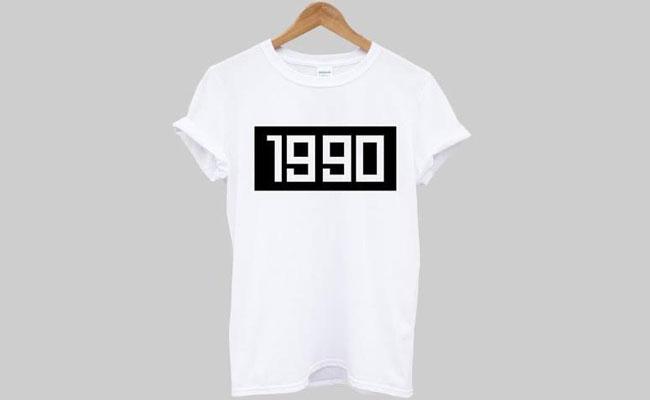 1990 shirt