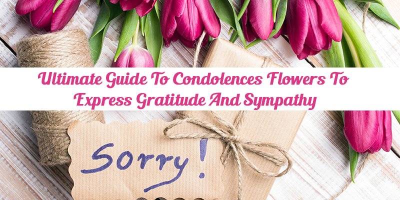 express gratitude and sympathy with flowers
