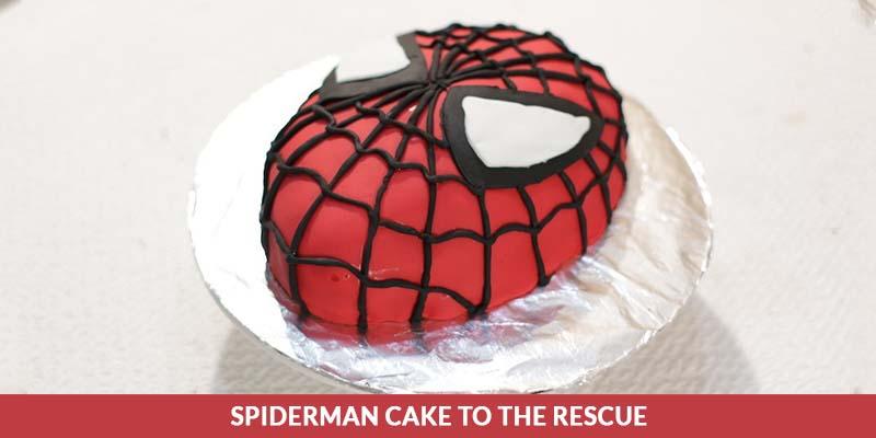 Spiderman cake recipe