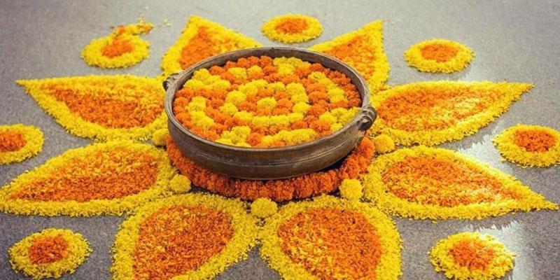 Top 10 Easy Flower Rangoli Idea for Diwali