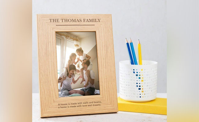 Mothers Day Personalised Family Photo Frame