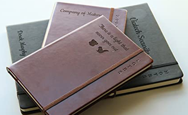 Hard- Bound Journal with Personalised Messages
