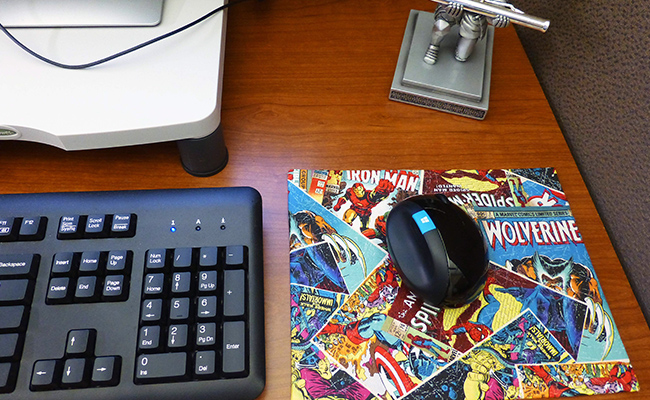 Comic Book Mouse Pads