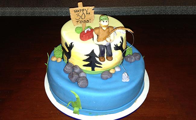 Luscious Cake for Husband