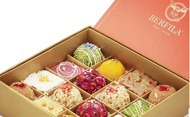 Indian sweet box