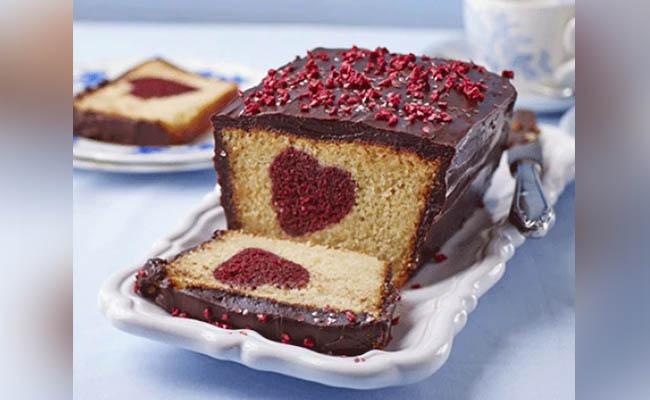Hidden Heart-Shape Cake