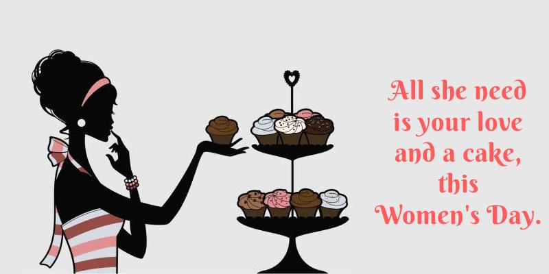 Women's Day Cake